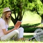 reading-outside