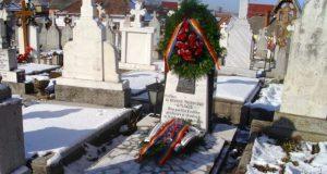 Comemorarea lui George Moroianu, duminică orele 12:00, la Săcele