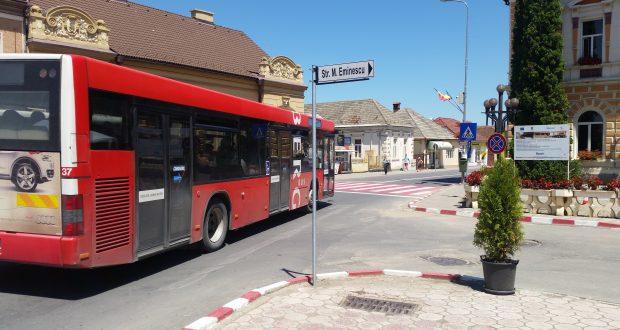 Internet wireless şi camere video în autobuzele săcelene