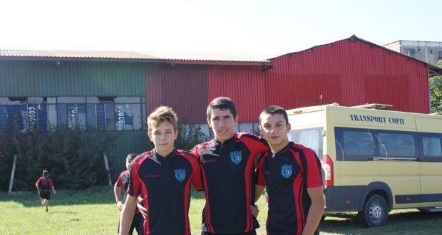 Trei jucători de la Rugby Club Săcele merg la selecția națională la categoria U17