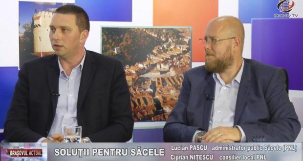Soluţii pentru Săcele: Lucian Pascu şi Ciprian Niţescu la Braşov TV