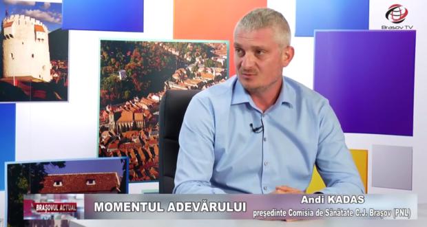 Andi Kadas, președintele PNL Săcele, despre sănătate și politică la Brașov TV