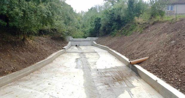 Săcele: Cursul de apă Valea Morii a fost amenajat hidrotehnic