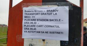 """AS """"SR"""" Brașov – Precizia Săcele: Stegarii dau chemarea la stadion, săcelenii au transport gratuit"""