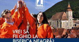 Biserica Neagră caută ghizi voluntari