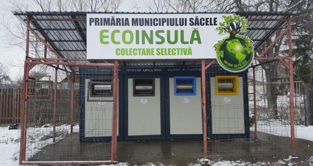 Au apărut primele containere de colectare selectivă a gunoiului la Săcele. Se numesc EcoInsule.