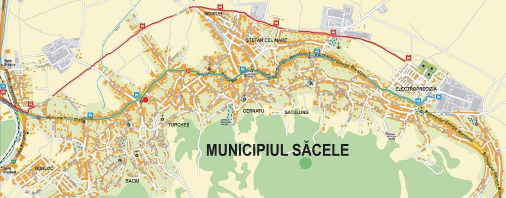harta trafic sacele 2