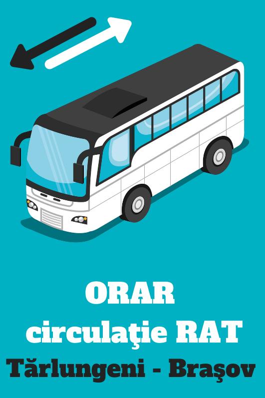 ORAR transport Tărlungeni – Brașov linia 530